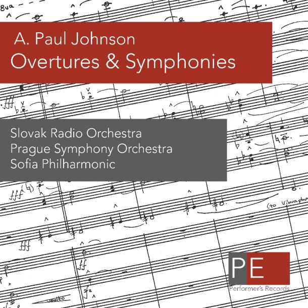 A. Paul Johnson - Overtures & Symphonies CD