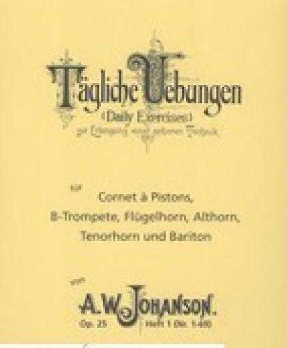 Johanson - 25 Tägliche Übungen - Volume 1