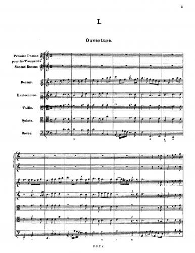 Achron - Suite No. 1 en Style ancien - Scores and Parts