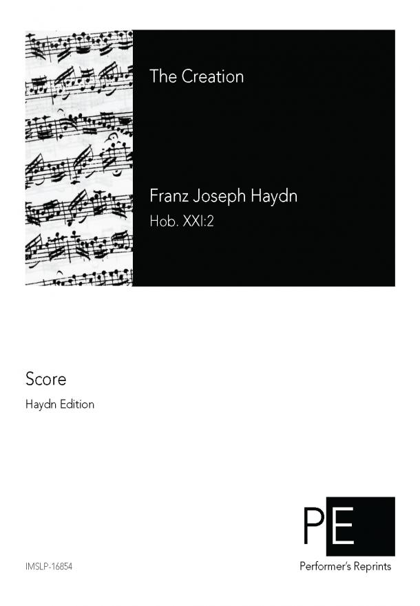 Haydn - Die Schöpfung, Hob.XXI:2