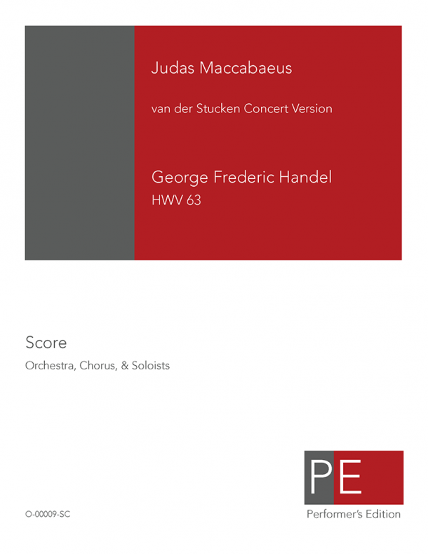 Handel: Judas Maccabaeus (Concert Version)