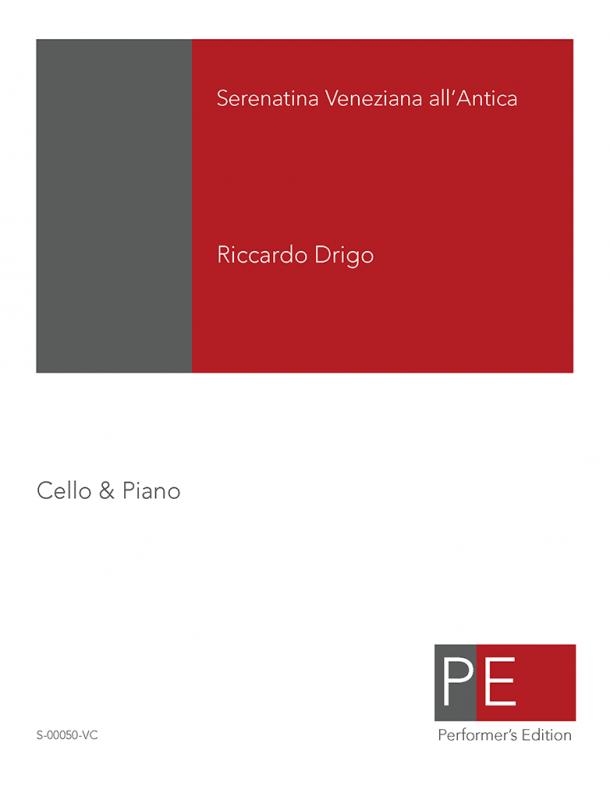 Drigo: Serenatina Veneziana all'Antica