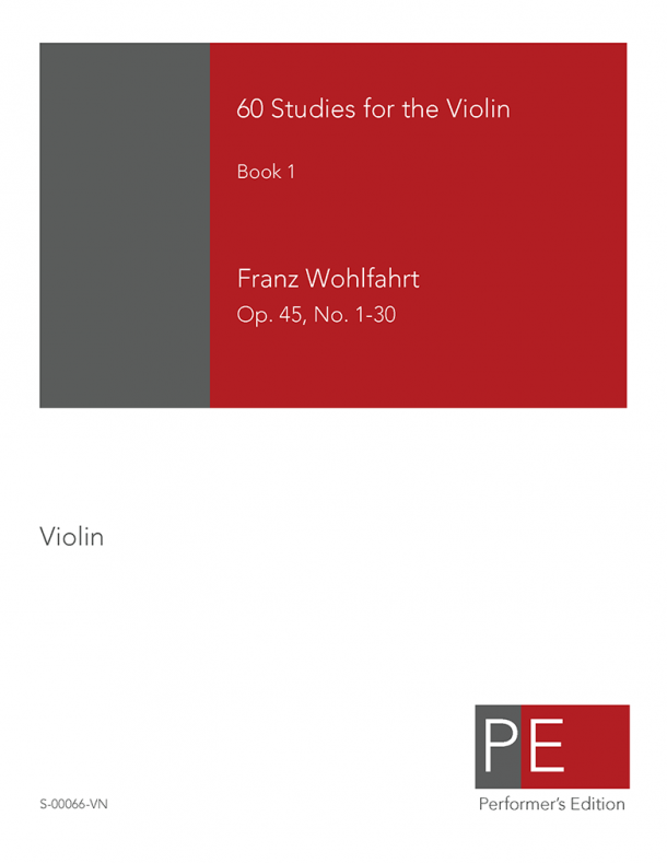 Wohlfahrt: Sixty Studies for the Violin, Book 1