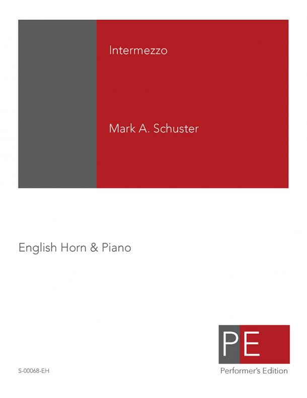 Schuster: Intermezzo for English Horn & Piano