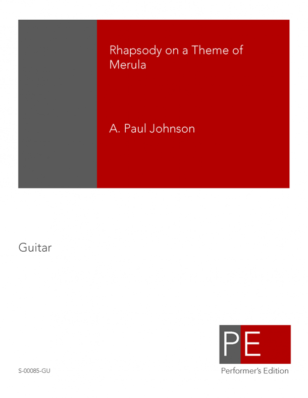 Johnson: Rhapsody on a Theme of Merula