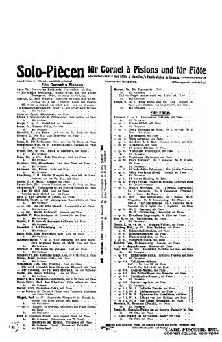 Andersen - 24 Etudes for Flute, Op. 30 - Score