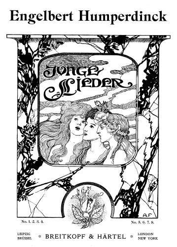 Humperdinck - Junge Lieder - Score