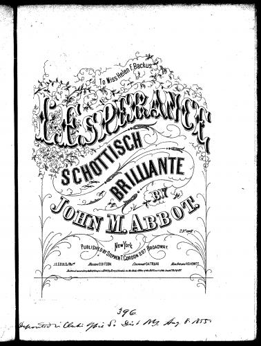 Abbot - L'Esperance - Score