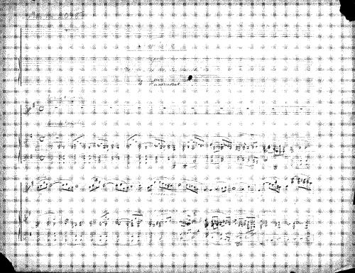 Humperdinck - Notturno - Score