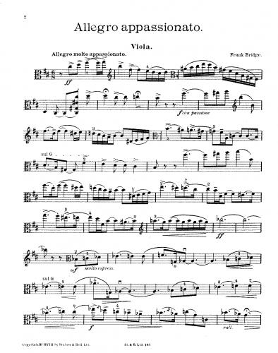 Bridge - Allegro appassionato - Score
