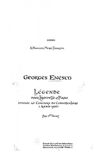 Enescu - Légende