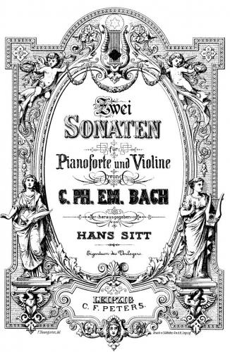 Bach - Violin Sonata in B minor - Scores and Parts