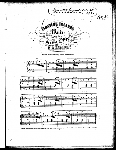 Aadler - Floating Islands - Score