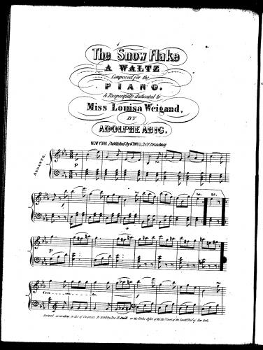 Abig - The Snow Flake - Score