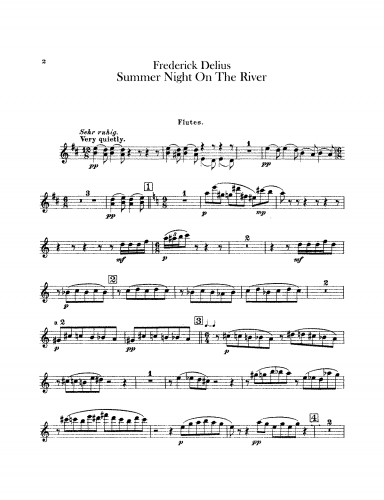 Delius - Summer Night on the River