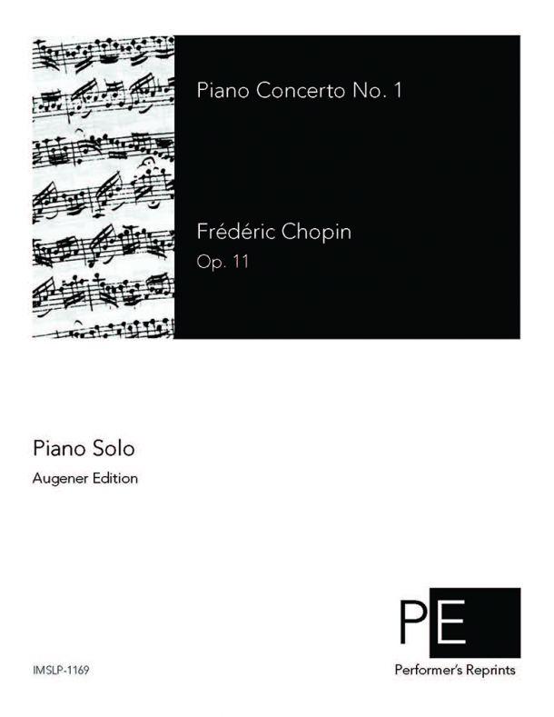 Chopin - Piano Concerto No. 1 - Piano Solo