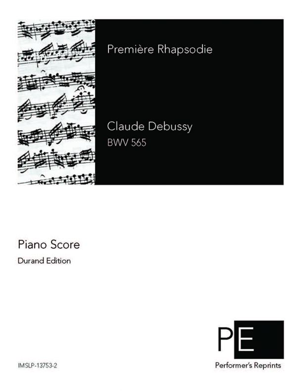 Debussy - Première rapsodie - For Clarinet & Piano