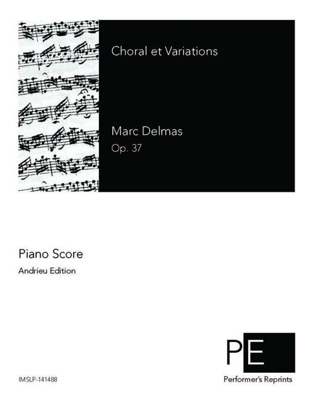 Delmas - Choral et Variations