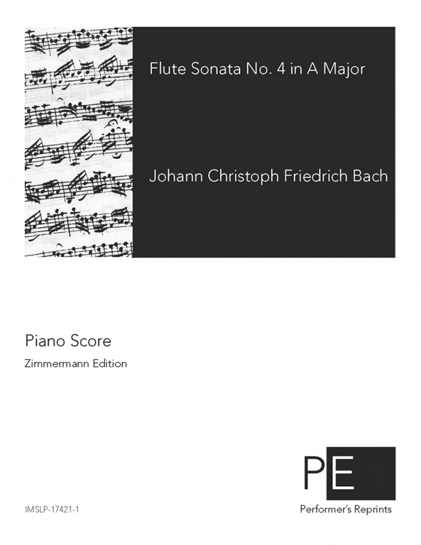 Bach - Flute Sonata No .4 in A Major