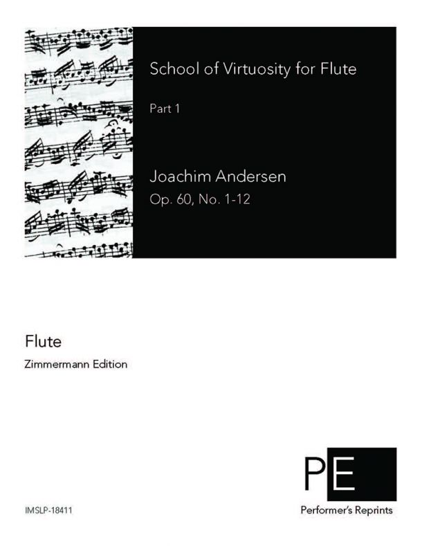 Andersen - School of Virtuosity for Flute, Op. 60