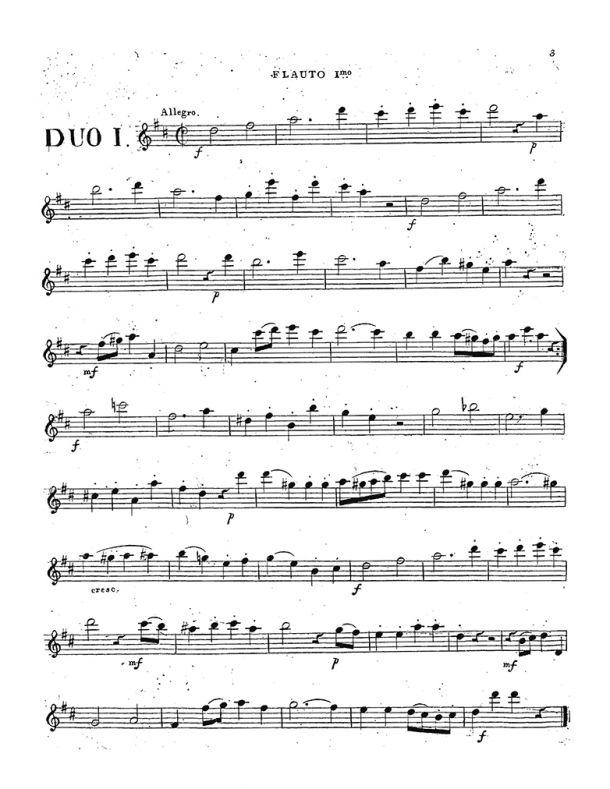 Jensen - 6 Duos for 2 Flutes, Op. 16