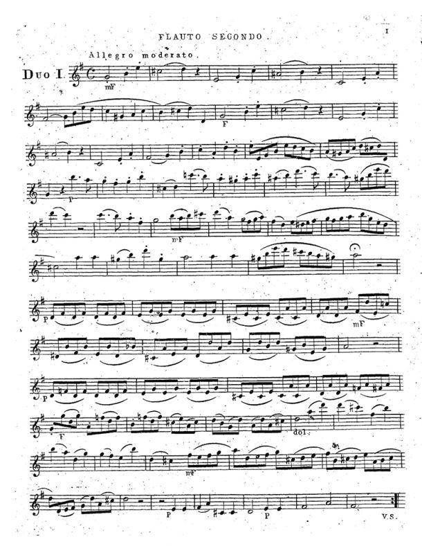 Jensen - 3 Duos for 2 Flutes, Op. 9