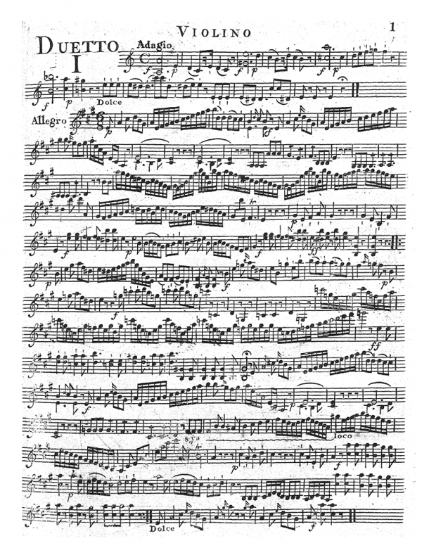 Hoffmeister - 6 Duets for Violin and Viola, Op. 13