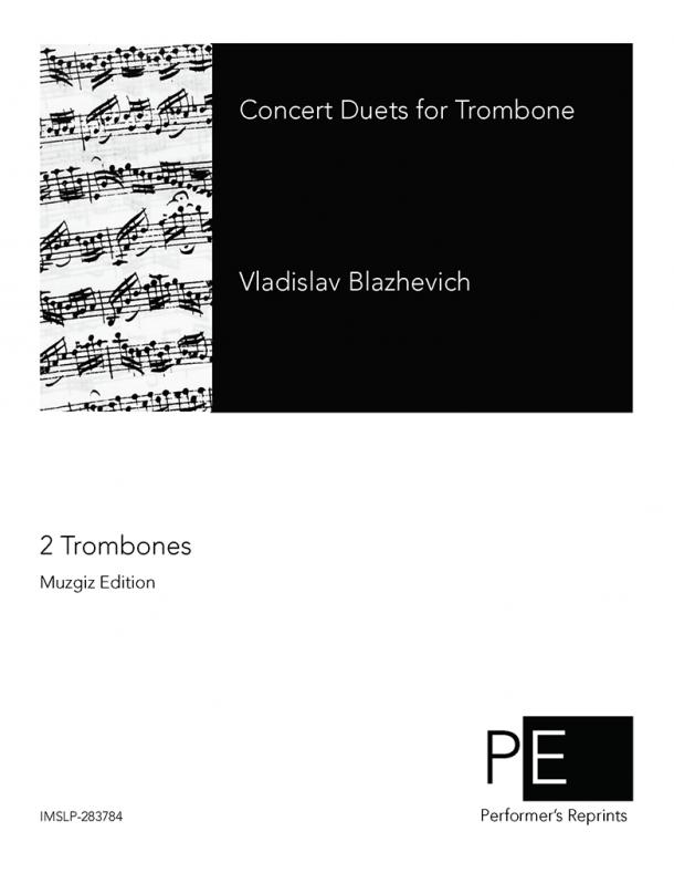 Blazhevich - Concert Duets for Trombone
