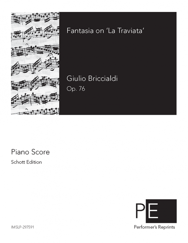Briccialdi - Fantasia on 'La Traviata', Op. 76