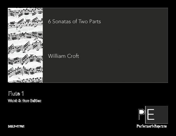 Croft - 6 Sonatas of Two Parts