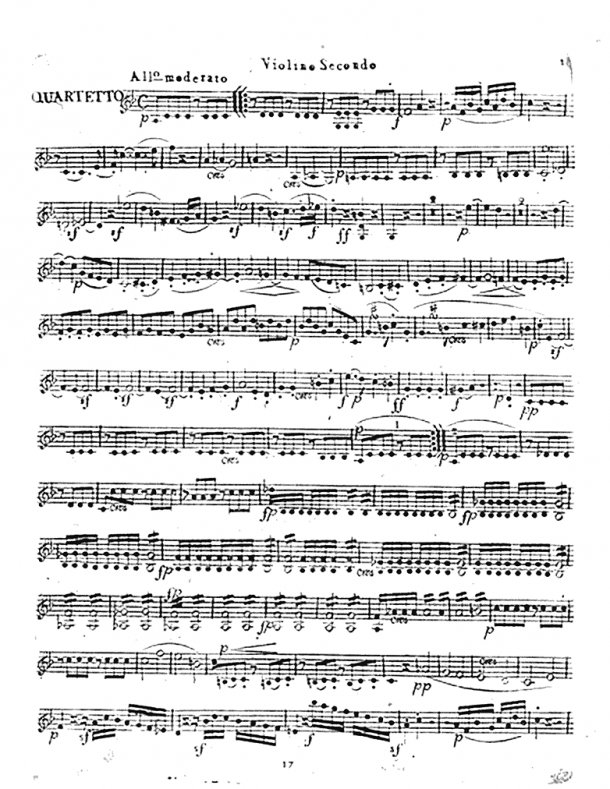 Beethoven - Piano Sonata No. 9 - For String Quartet (Beethoven)
