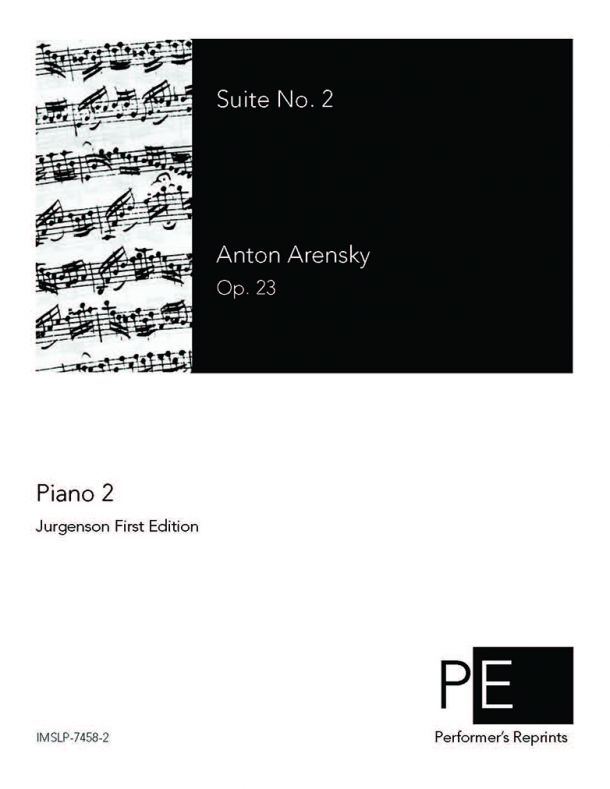 Arensky - Suite No. 2