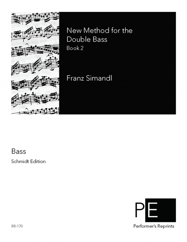 Simandl - New Method for the Double Bass - Book 2