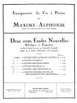 Alphonse - Deux cents Études Nouvelles Mélodiques et Progressives pour Cor - Book 5